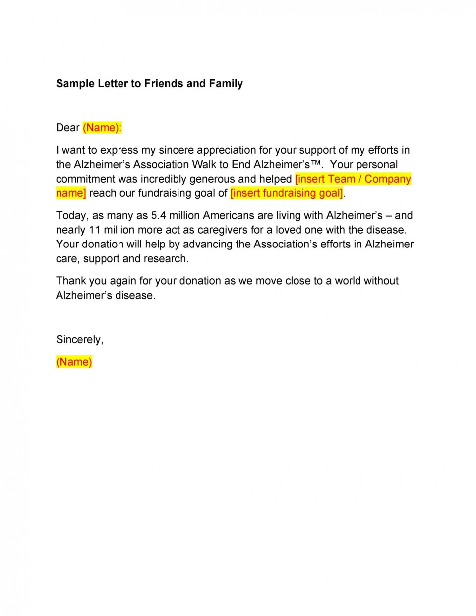 007 Dreaded Thank You Letter Template Highest Quality  Donation Word Printable Format Pdf960