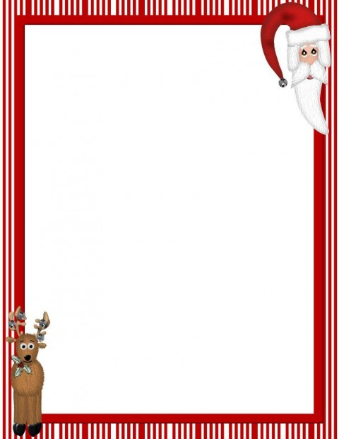007 Excellent Christma Stationery Template Word Free High Resolution  Religiou For Downloadable480