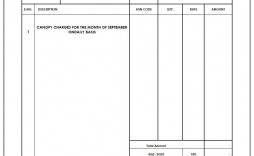 007 Excellent Excel Invoice Template Gst Free Download Inspiration