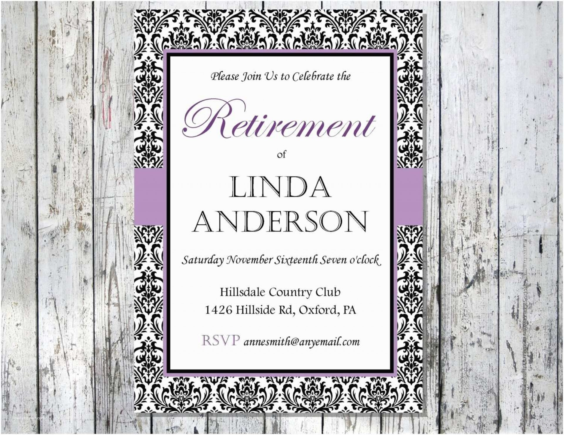 007 Excellent Free Retirement Invitation Template Idea  Templates Microsoft Word Party Flyer1920