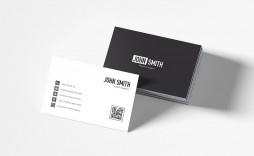 007 Excellent Minimalist Busines Card Template Psd Example