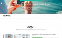 007 Excellent One Page Responsive Website Template Bootstrap Free Image  Download