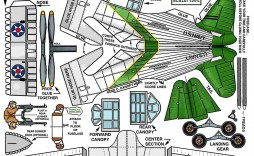 007 Excellent Printable Paper Airplane Instruction Example  Instructions Free Pdf Simple