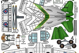 007 Excellent Printable Paper Airplane Instruction Example  Free Pdf Dart