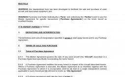 007 Excellent Purchase Sale Agreement Template Sample  Uk & Nz Free Busines And