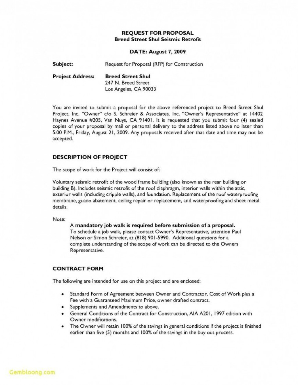 007 Excellent Request For Proposal Template Word Free High Def Large