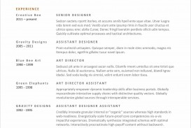 007 Excellent Resume Microsoft Word Template Example  Cv/resume Design Tutorial With Federal Download