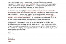 007 Excellent Salary Increase Letter Template Idea  From Employer To Employee Australia No For