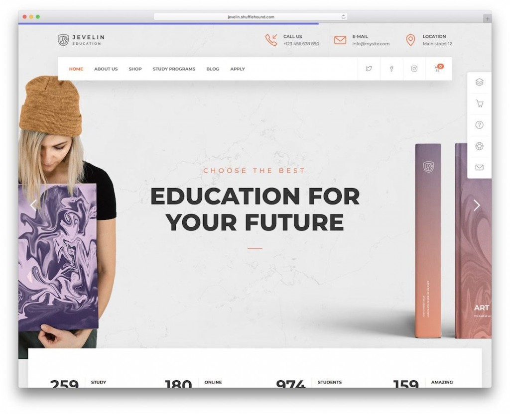 007 Excellent School Website Html Template Free Download Photo  Responsive With Cs JqueryLarge