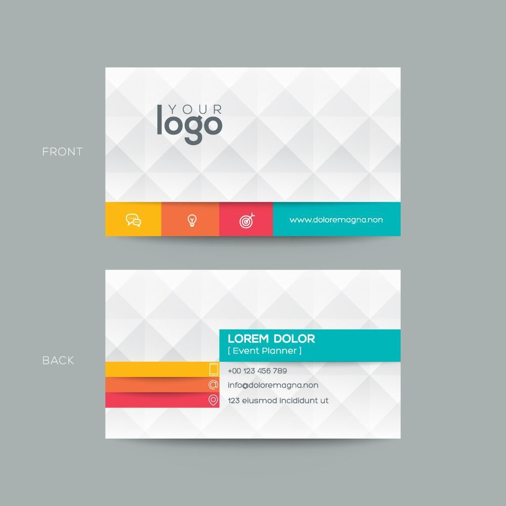 007 Excellent Simple Visiting Card Template Image  Templates Busines Psd Design File Free DownloadFull