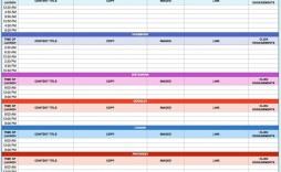 007 Excellent Social Media Editorial Calendar Template Highest Clarity  Content Excel 2020 Free Download