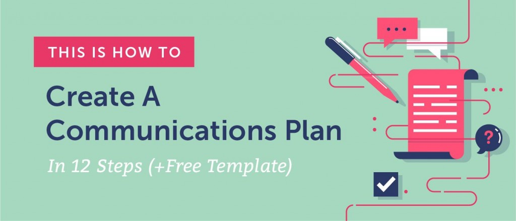 007 Excellent Strategy Communication Plan Template Example  Internal And ActionLarge