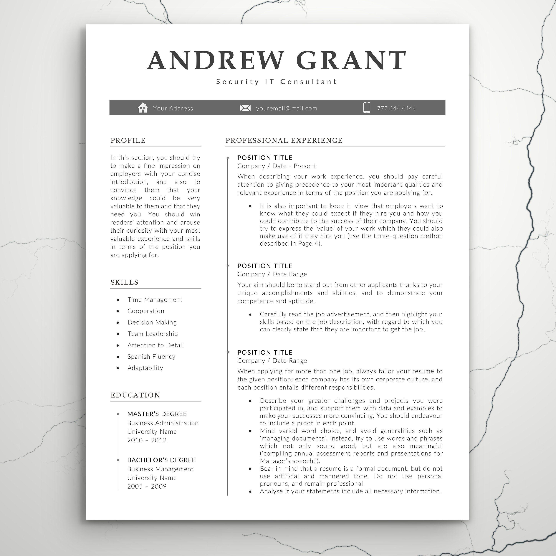 007 Excellent Teacher Resume Template Microsoft Word 2007 High Resolution Full
