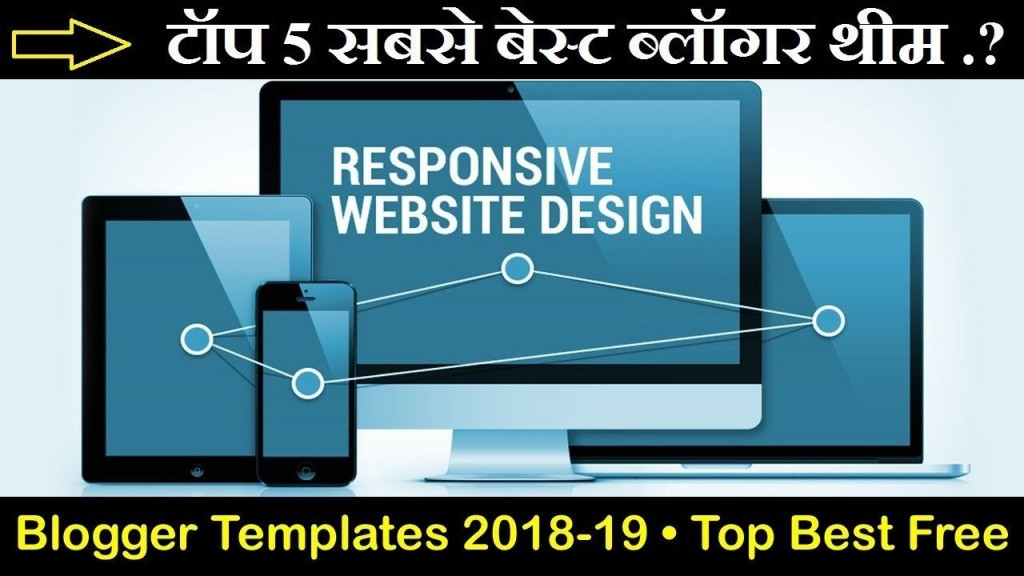 007 Exceptional Best Free Responsive Blogger Template 2018 Idea Large