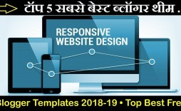 007 Exceptional Best Free Responsive Blogger Template 2018 Idea