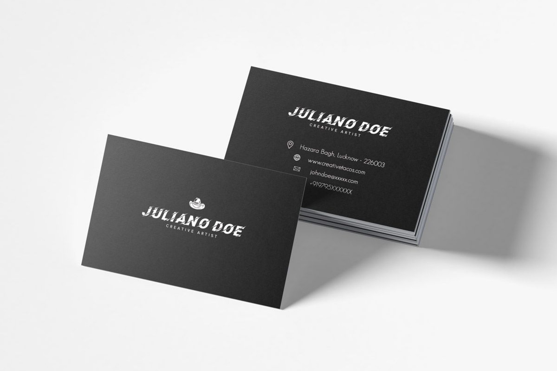 007 Exceptional Busines Card Template Psd Sample  Professional Photographer Freebie Visiting File Free Download1920