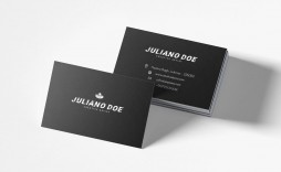 007 Exceptional Busines Card Template Psd Sample  Professional Photographer Freebie Visiting File Free Download