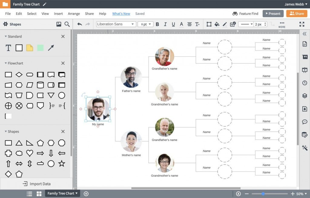 007 Exceptional Family Tree Template Google Doc Sample  Docs I There A On Free EditableLarge