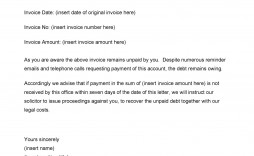 007 Exceptional Final Payment Demand Letter Template Sample