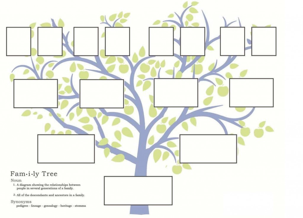 007 Exceptional Free Editable Family Tree Template High Resolution  With Sibling Powerpoint For MacLarge