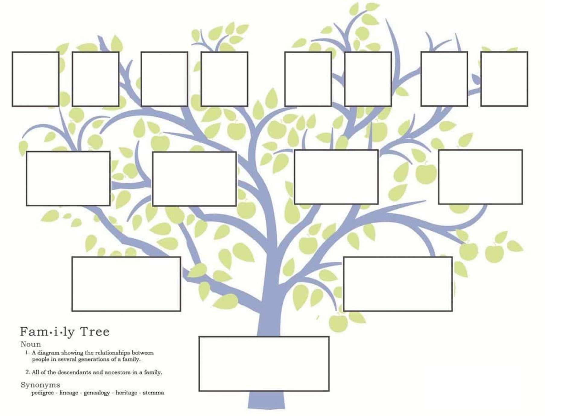 007 Exceptional Free Editable Family Tree Template High Resolution  With Sibling Powerpoint For Mac1920