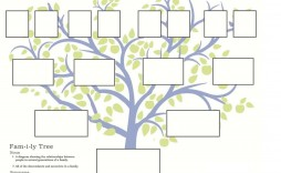 007 Exceptional Free Editable Family Tree Template High Resolution  With Sibling Powerpoint For Mac