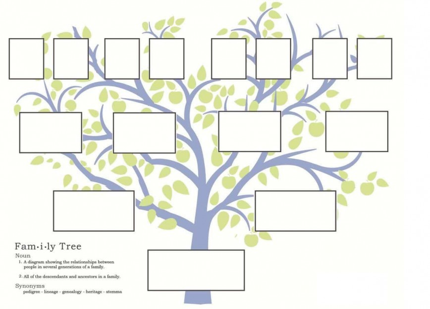 007 Exceptional Free Editable Family Tree Template High Resolution  With Picture Powerpoint