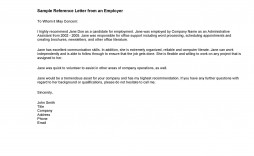 007 Exceptional Free Reference Letter Template For Employment Example  Word