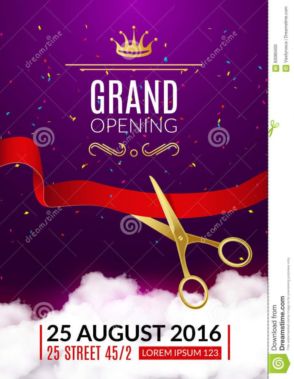 007 Exceptional Grand Opening Flyer Template Free Picture  RestaurantLarge