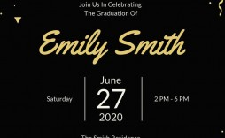 007 Exceptional Microsoft Word Graduation Party Invitation Template Example