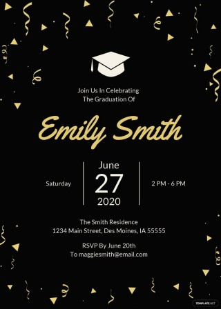 007 Exceptional Microsoft Word Graduation Party Invitation Template Example 320