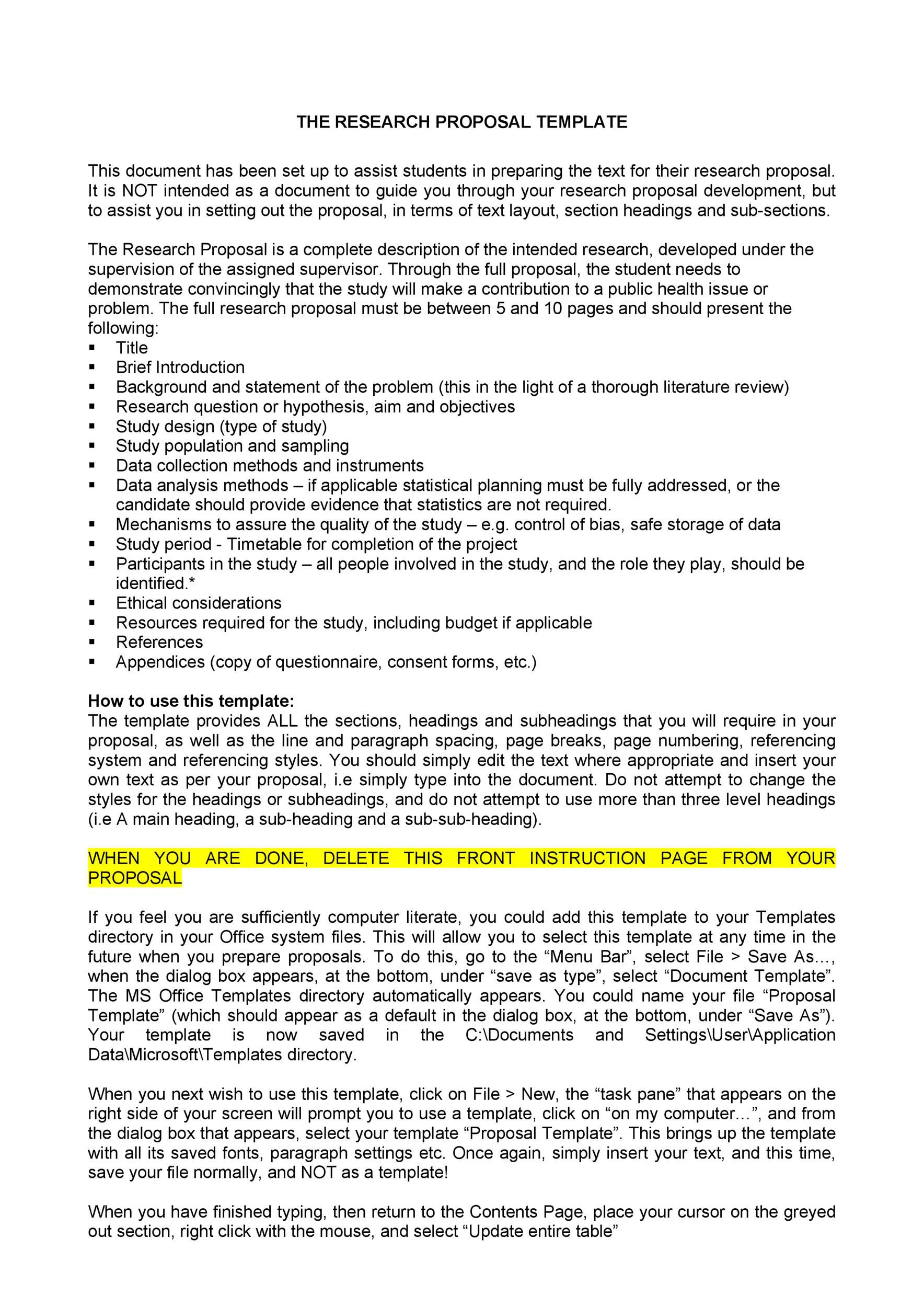 007 Exceptional Research Project Proposal Outline Example Photo Full