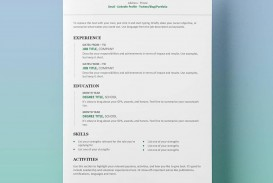 007 Exceptional Resume Template Word Free High Definition  Download 2020 Doc