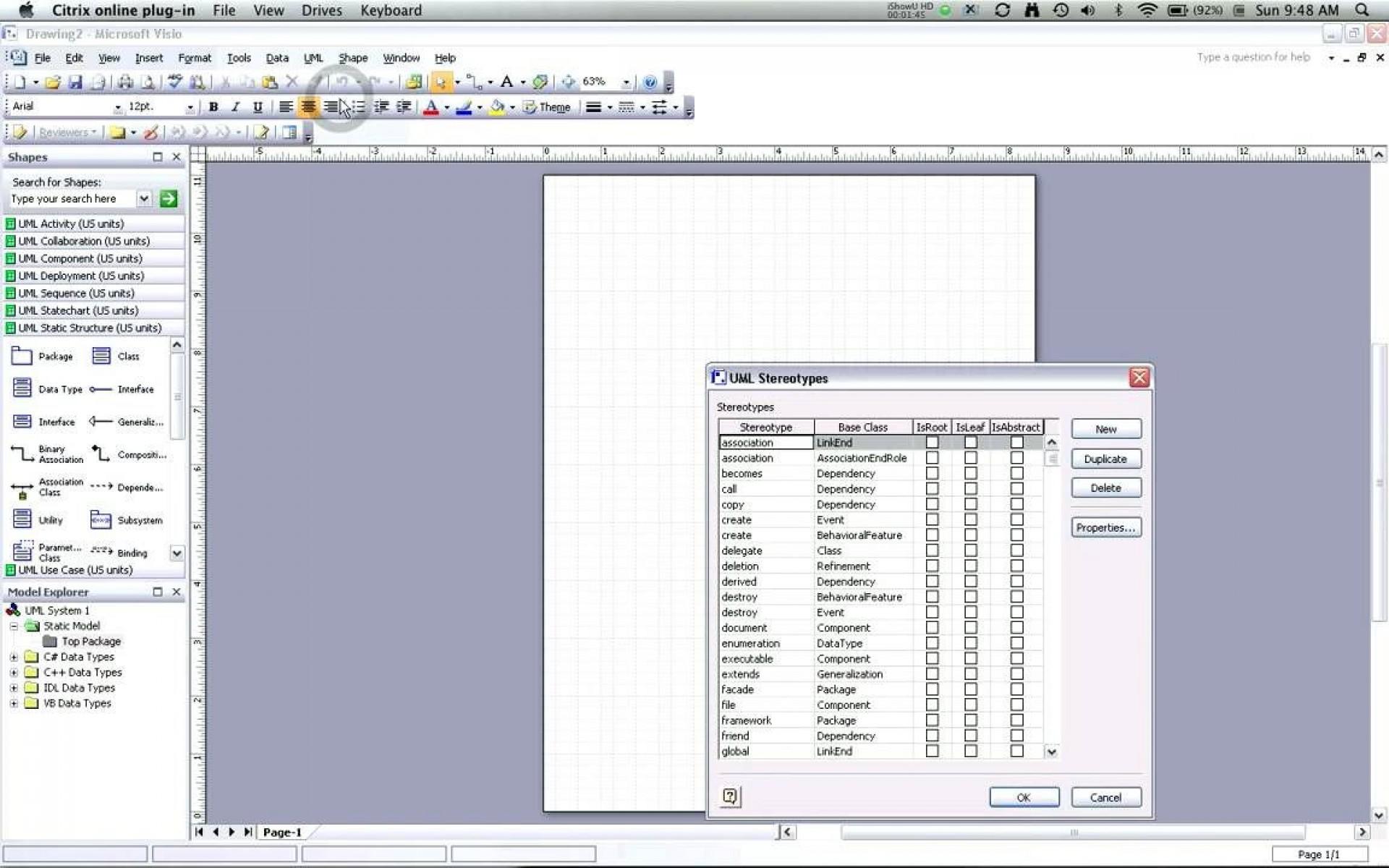 007 Exceptional Uml Diagram Template Visio 2010 Concept  Model Download Clas1920
