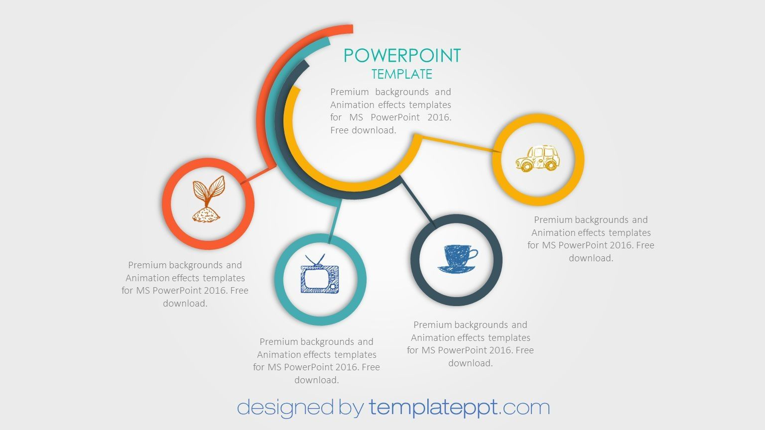 007 Fantastic Animated Powerpoint Template Free Download 2017 Concept  With Animation 3dFull
