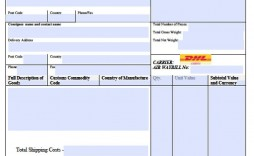 007 Fantastic Commercial Invoice Template Excel Sample  Free Download