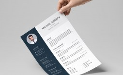007 Fantastic Cv Template Free Word 2018 Picture  Download Modern