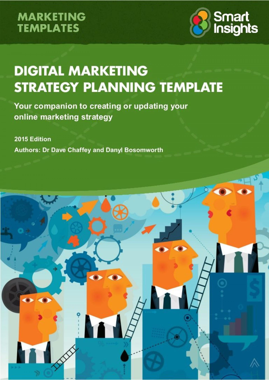 007 Fantastic Digital Marketing Plan Example Doc Sample  Template1920