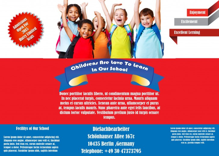 007 Fantastic Free Back To School Flyer Template Word Highest Quality 728