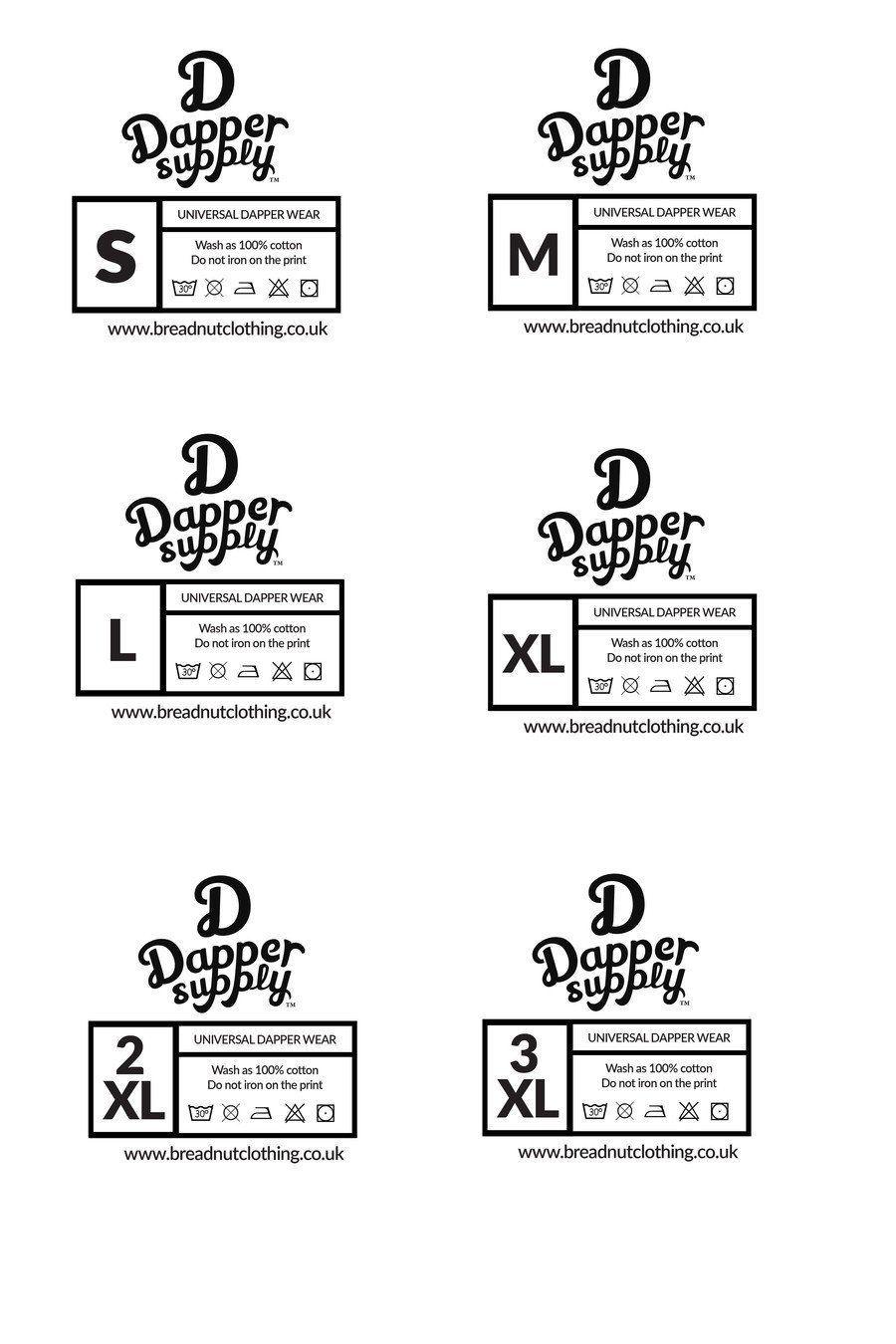 007 Fantastic Free Clothing Label Design Template Sample  Templates DownloadFull