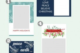 007 Fantastic Free Download Holiday Card Template Concept