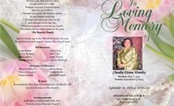 007 Fantastic Free Funeral Program Template High Resolution  Word Catholic Editable Pdf