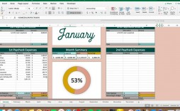 007 Fantastic Free Monthly Budget Template Philippine Picture  Philippines