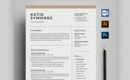 007 Fantastic Free Stylish Resume Template Picture  Templates Word Download