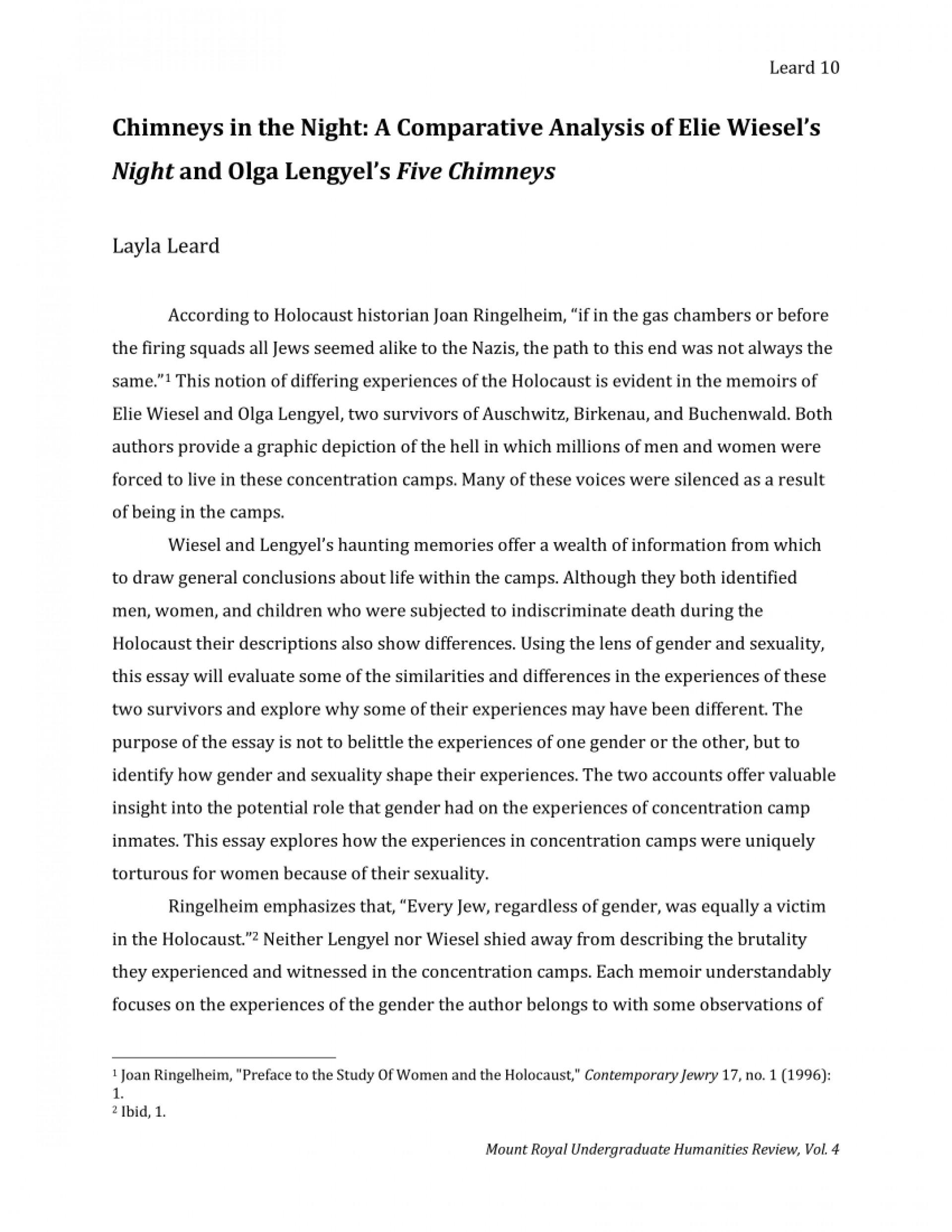 007 Fantastic Holocaust Essay Idea  Thesi Hook Contest 20201920