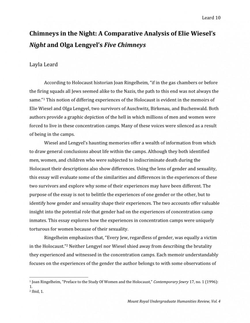 007 Fantastic Holocaust Essay Idea  Thesi Hook Contest 2020868