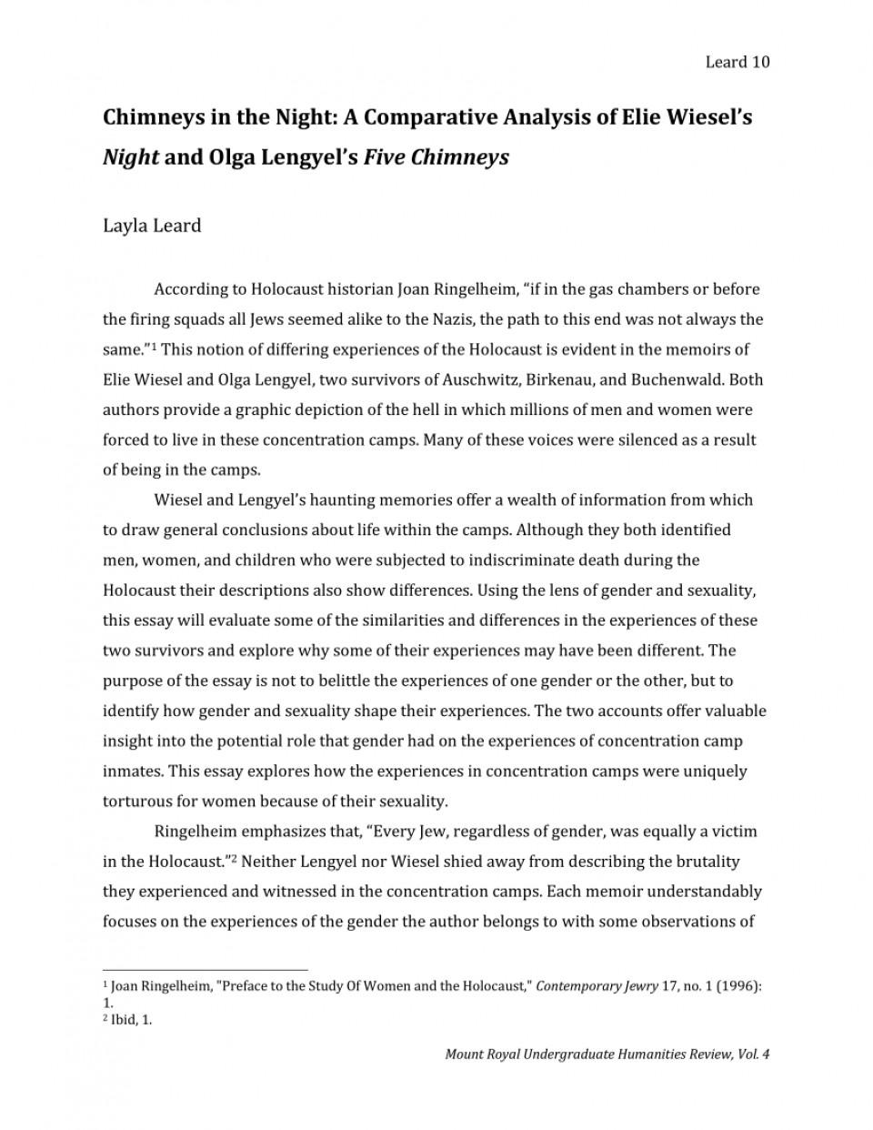 007 Fantastic Holocaust Essay Idea  Thesi Hook Contest 2020960