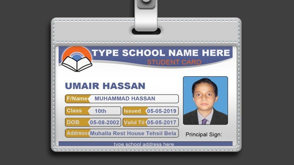 007 Fantastic Id Badge Template Free Online High Resolution Large