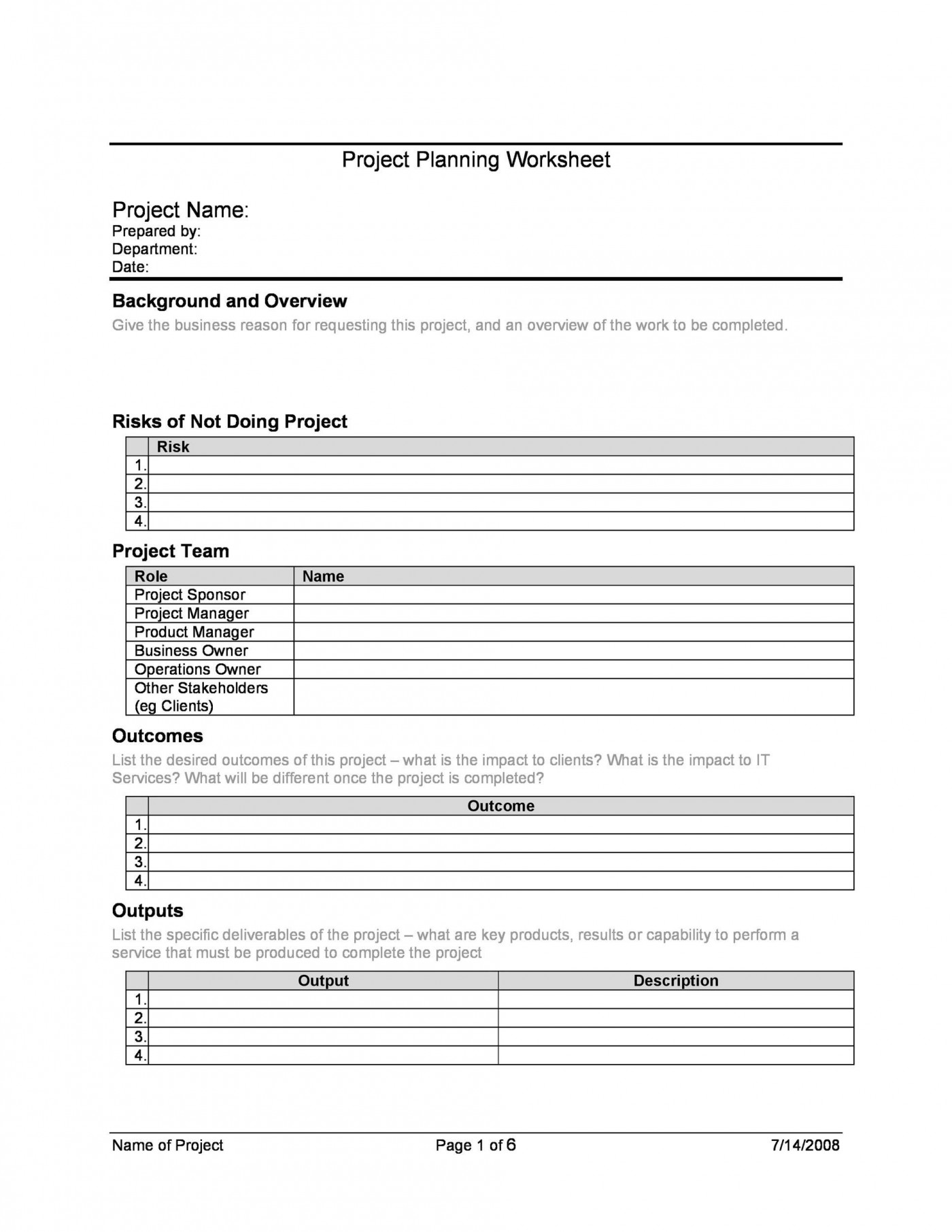 007 Fantastic Microsoft Word Project Plan Template Example  Simple Management1400