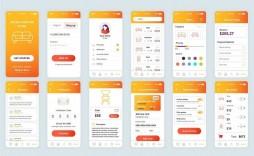 007 Fantastic Mobile App Design Template Image  Size Free Download Ui Psd